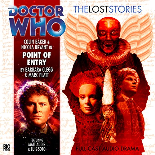 Doctor Who - The Lost Stories - Point of Entry cover art