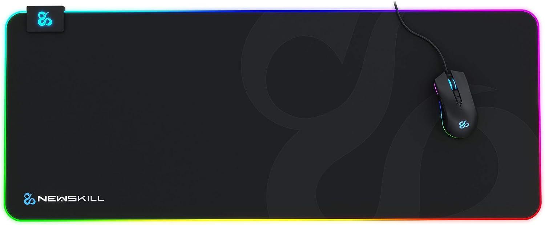Newskill Nemesis V2 Rgb Gaming Mauspad Mit Unterseite Computer Zubehör