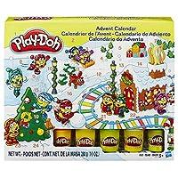 プレイドー B21999 造形成分おもちゃ クリスマス アドベントカレンダー 5色容器