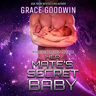 Her Mate's Secret Baby     Interstellar Brides, Volume 9              Written by:                                                                                                                                 Grace Goodwin                               Narrated by:                                                                                                                                 Audrey Conway,                                                                                        BJ Pottsworth                      Length: 5 hrs and 27 mins     4 ratings     Overall 4.8