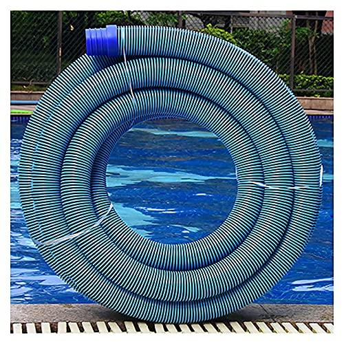 OVBBESS Manguera para Piscina,Tubo,Filtro Flexible de Limpieza al vacío,Tubo de conexión Resistente al Cloro UV,Estanque,Jacuzzi,diámetro de 2 pulg.