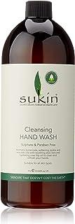 Sukin Cleansing Hand Wash, Cap, 1L