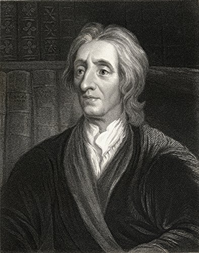 Posterazzi John Locke 1632-1704 English Philosopher Who Founded The School Of Empiricism From The Book_Lodge S British Portraits Published London 1823 Poster Print, (13 x 17)
