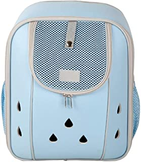 MAOSHE Deluxe Pet Carrier Backpack for Small Cats and Dogs, Puppies | Ventilated Design, Two-Sided Entry, Safety Features and Cushion Back Support | for Travel, Hiking, Outdoor Use