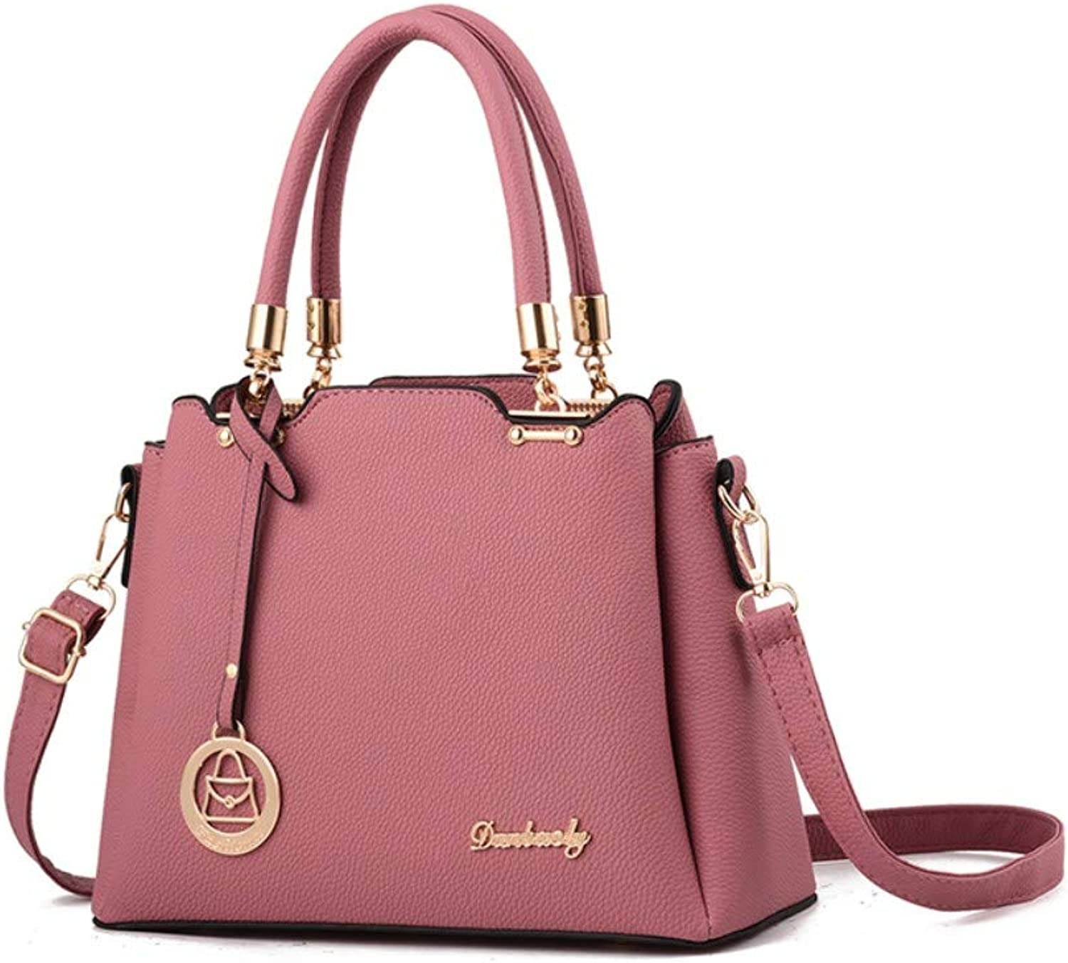 Z.H-H Wild Fashion, Small Fresh Lady Casual, Simple and Large-Capacity Personality Handbag Middle-Aged Mother's Hand Bag Shoulder Bag