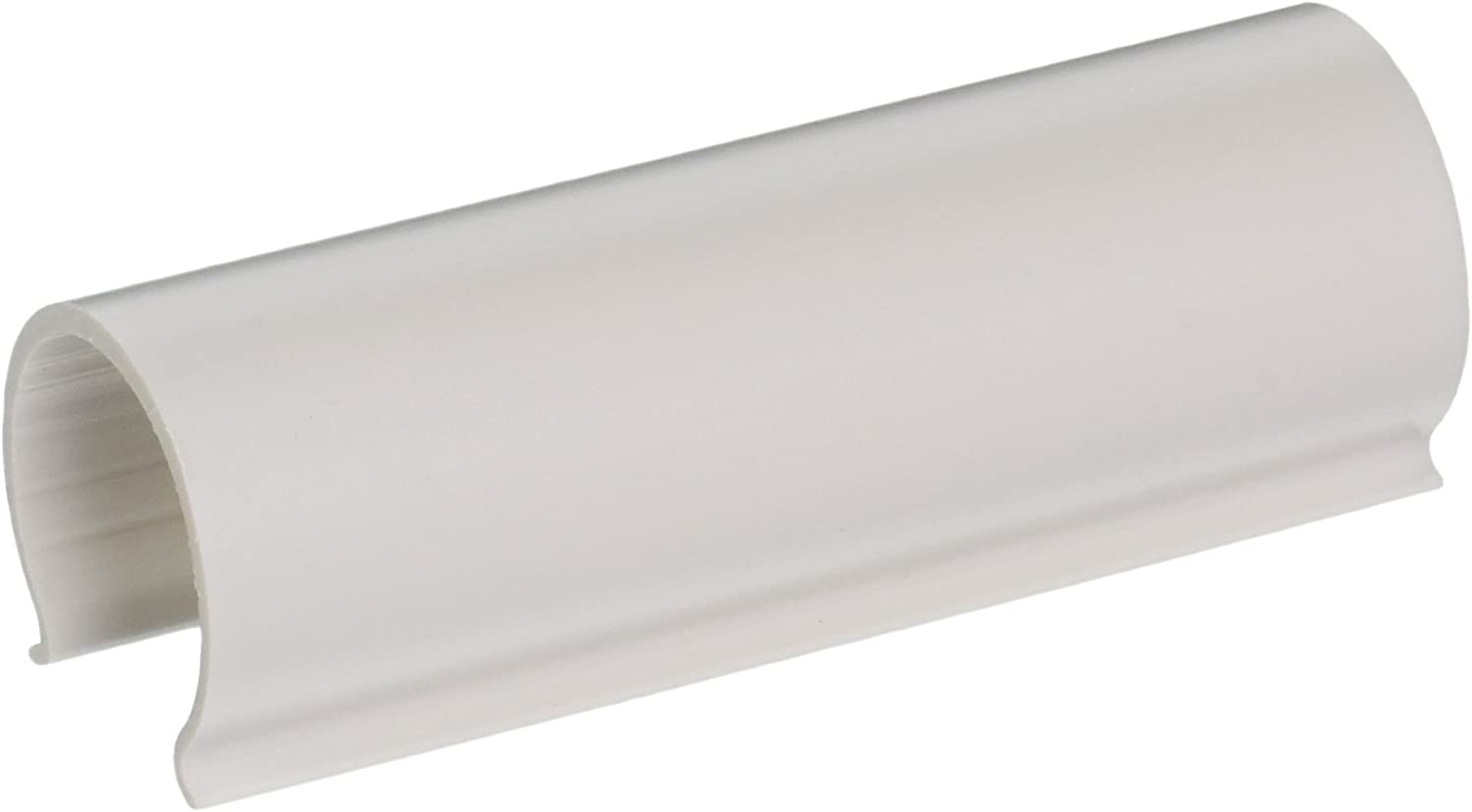 EZ White Snap Clamp 1-1/4 Inch X 4 Inches Wide for 1-1/4 Inch PVC Pipe 10 Per Bag
