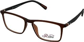RETRO Unisex-adult Spectacle Frames Rectangular 5601 M.Brown/Black