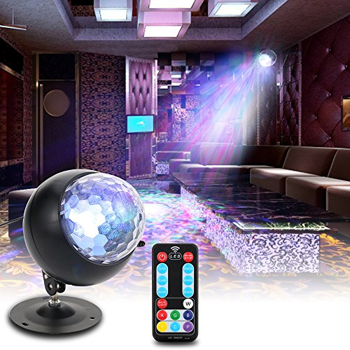 Ocean Wave Projector Tomshine Night Light Lamp with Adjustable Lightness 3 Speeds 90 Degree Wide Galaxy Projector Controller Water Star Lamp for Kids Adults Disco KTV Club Party Home