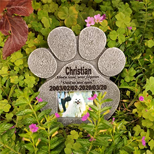 Pierre lápida mascota, lápida marcador personalizado, dentro y fuera sólida (puede ser al por mayor, al por mayor más descuento)