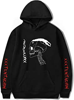 DHSPKN Xxxtentacion Memorial RIP Pullover Hoodie Rap Revenge Hooded Jacket Hiphop Sweater