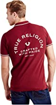 True Religion Men's Crafted with Pride Logo Polo Shirt