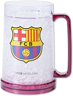 FC Barcelona Freezer Mug - Freezer Tankard - Official FC Barcelona Product - Great for all Barca Fans - Men and Women Love This Mug
