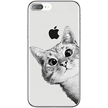 cover iphone 7 silicone gatto