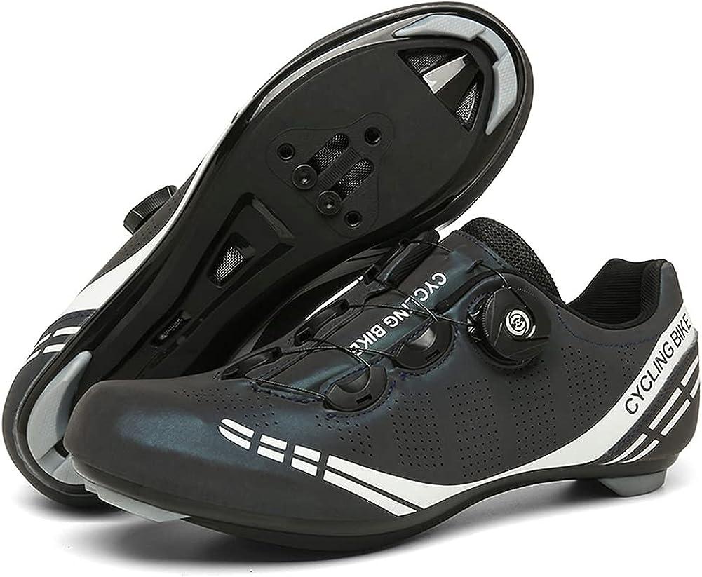 Mens Road Bike Cycling Shoes favorite Womens Compati Max 43% OFF Indoor Peloton