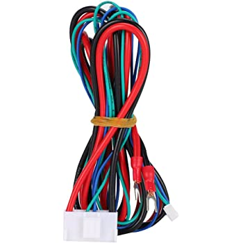20AWG Aibecy Hot Bed Cable Anet Heated Bed Cable Line Cable for Anet A8 Plus E16 3D Printer Upgrade Suppliers Accessories Length 90cm//35.4