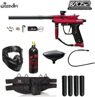 MAddog Azodin KAOS 2 Silver Paintball Gun Package