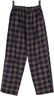 Bullang レディース マッフル バンディング チェック パンツ 3色 韓国ファッション