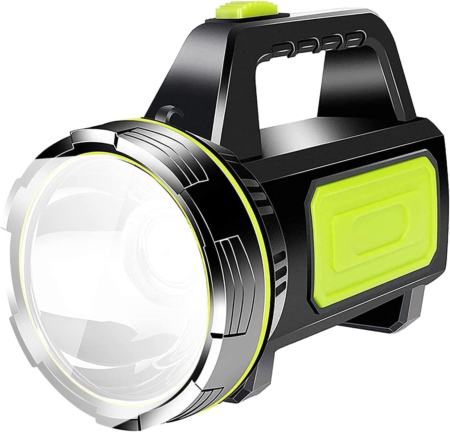 LED Searchlight 2 Modes price 13500LM Finally resale start White Ligh Handheld Bright Light
