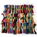 no-branded Bordado de Hilo 150 Colores de Punto de Cruz Bordado de Hilo de Anclaje similares Pase Hilo de algodón for DIY Arte de Costura CGFEUR