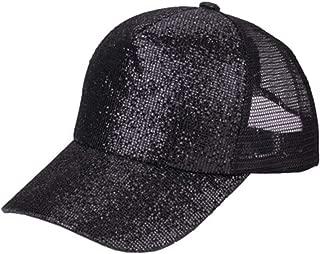 GBIRNQOPF Net Cap Unisex Cotton 5 Panels Adjustable Baseball Cap Summer Mesh Caps Baseball Cap Men Fitted Hats