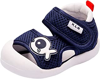 Annnowl Toddler Boys Sandals Summer Baby Shoes Anti-Skid Rubber Sole for Outdoor