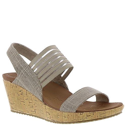 6d9e14389e89 Skechers Cali Women s Beverlee Smitten Kitten Wedge Sandal