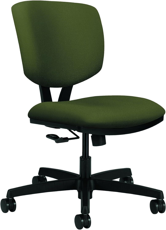 HON Volt Center-Tilt Task Chair for Office or Computer Desk, Olivine Fabric