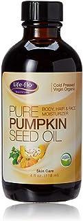 LIFE-FLO Pure Pumpkin Seed Oil Virgin Organic, Oil (Carton)   4oz