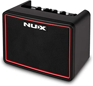 NUX Mighty Lite BT Mini Portable Modeling Guitar Amplifier with Bluetooth (Black/R)