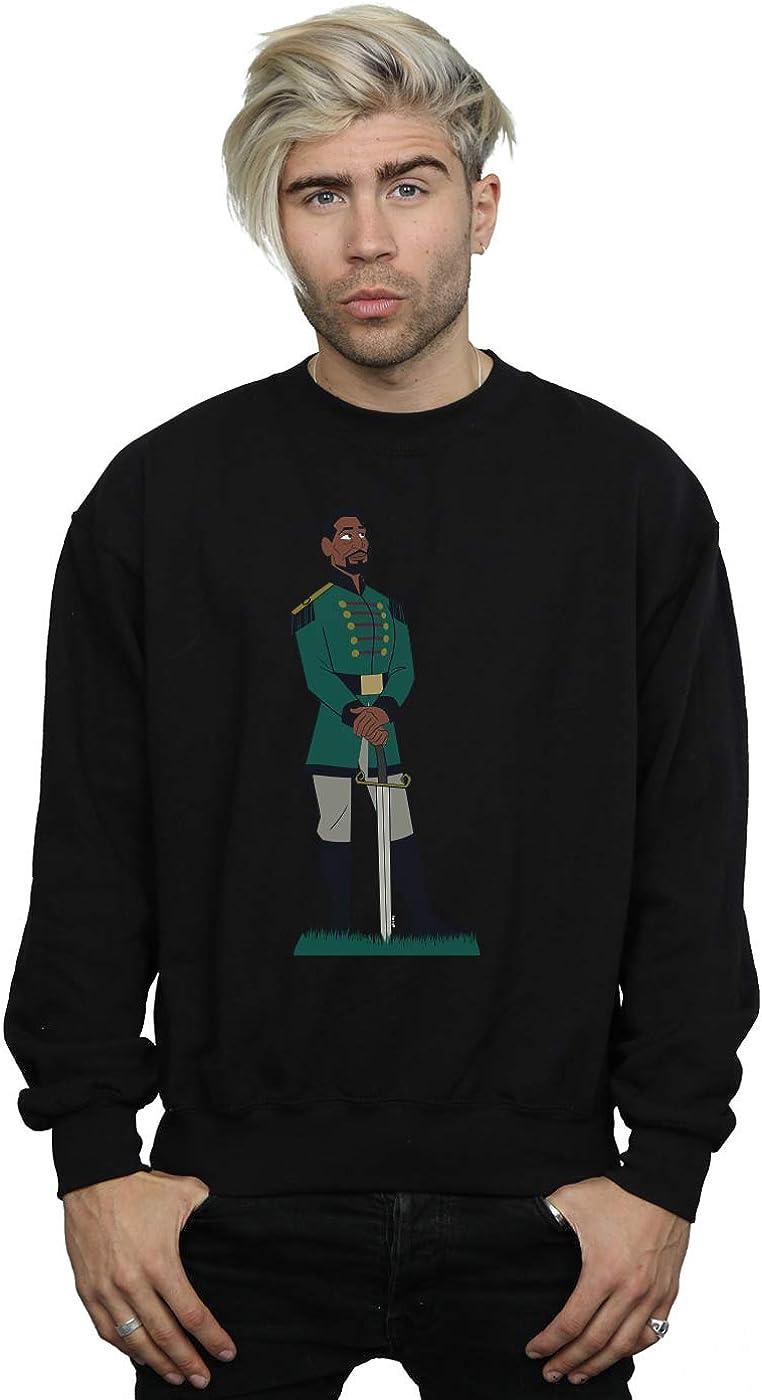 Disney Men's Frozen 2 Mattias Sweatshirt Black XXX-Large