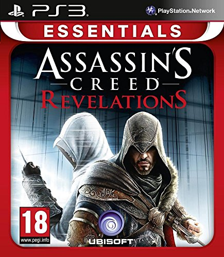 Just for Games Assassin's Creed Revelations Essentials, PS3 Básico + complemento PlayStation 3 Inglés, Francés vídeo - Juego (PS3, PlayStation 3, Acción / Aventura, M (Maduro))