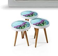 3 طاولات متدرجة الحجم من رترو