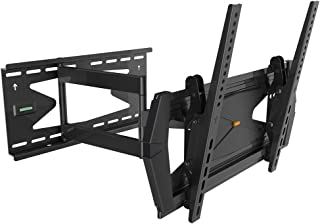 "Black Full-Motion Tilt/Swivel Wall Mount Bracket with Anti-Theft Feature for iiyama Prolite LE4340S-B1 43"" inch LED Digital Signage - Articulating/Tilting/Swiveling"
