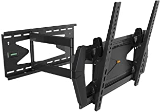 Black Full-Motion Tilt/Swivel Wall Mount Bracket with Anti-Theft Feature for Sharp PN-Y425 42