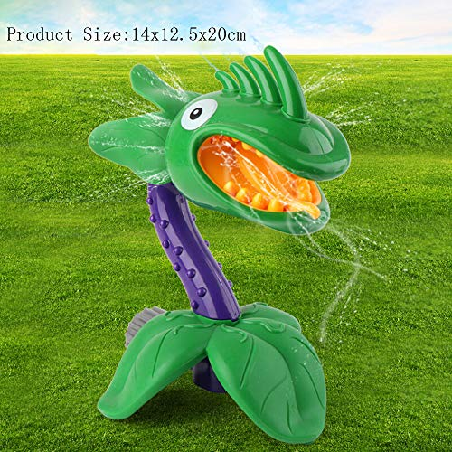 Cartoon Spinning Water Sprinkler Toy for Kids Outdoor Play - Backyard Spinning Funny Sprinkler Toy - Environmentally Friendly Materials, Bright Colors - Splashing Fun for Summer Days (B)