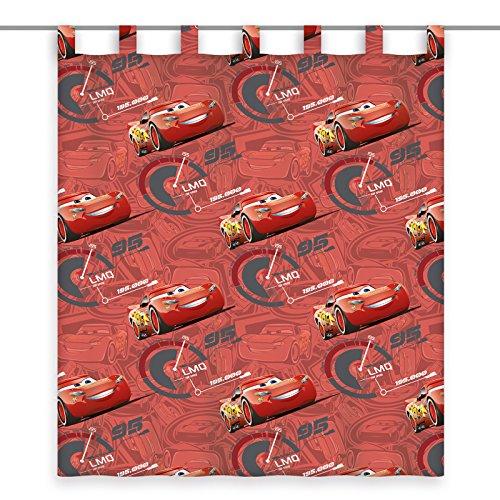 ROLLER Schlaufenschal Cars - rot - 140x160 cm