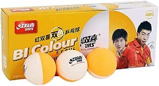 DHS 40+ ABS Bi Color Table Tennis Balls