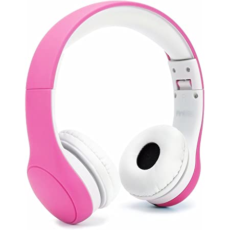 子供専用ヘッドホン ダイナミック密閉型 折りたたみ式 Anble キッズヘッドフォン … (Pink0)