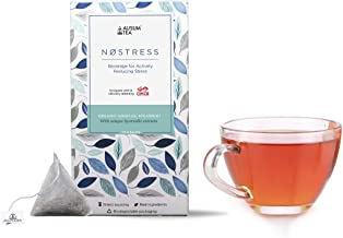 Ausum Tea NoStress for Stress Reduction (14 Teabags) - Herbal Tea with Ayurvedic Extract - Clinically Proven