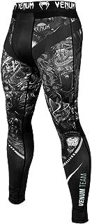 Venum Art Spats - Compression Pants for Men - No-Gi Fitness BJJ MMA Gym Compression Pants Men