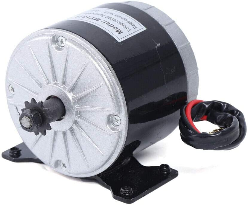 Motor magnético permanente de 11 velocidades para motor eléctrico 350 W 24 V CC para bicicleta modificada
