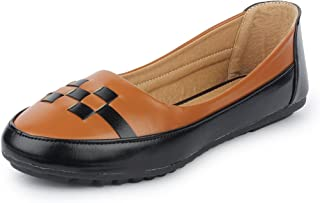 YAHE Women's Casual Italy Napa Belly Shoes Y-2269