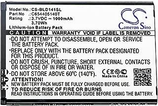Cameron Sino 1000mAh Li-ion High-Capacity Replacement Batteries for BLU Dash JR K / D140K / D141K, fits BLU C654405140T