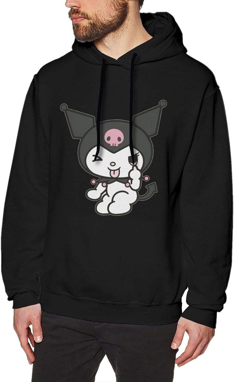 Kuromi Hoodies For Men Novelty Fashionable 3d Bargain sale Printed Sweatshirt