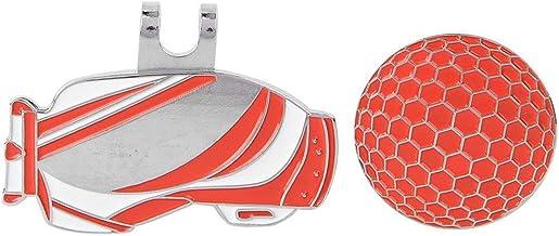 Hoed Clip, Yevenr Draagbare Golf Hoed Clip Lichtgewicht Golf Ball Markering Tool Metalen Golf Ball Marker Iron Golf Hat Cl...