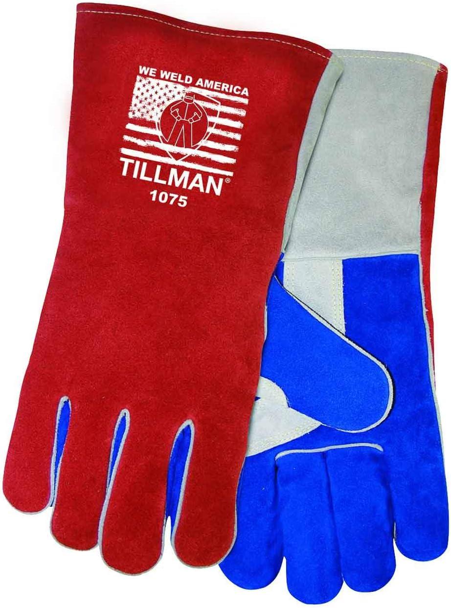 Tillman 1075 We Financial sales sale Weld America Side discount Welding Premium Cowhide Split