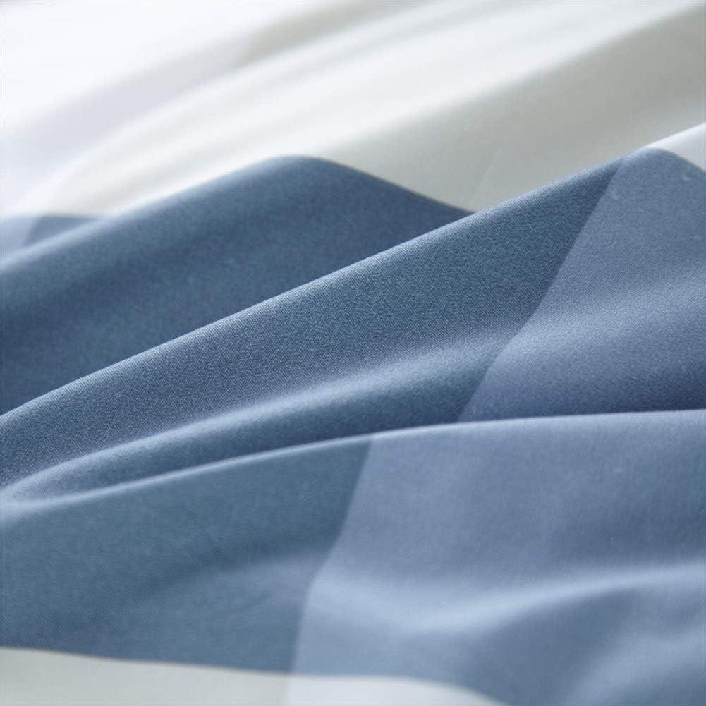 Draps En Coton Monopièce Lit Double Étudiant 2m Lit 1,8 M 250X230CM Modèle Couleur King Size (Color : T) Ll