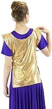 Danzcue Womens Polyester Ephod Dance Top