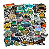 Outdoor Stickers 50PCS Nature Mountain...