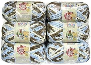 BERNAT Baby Blanket Yarn, 3.5oz, 6-PACK (Little Cosmos)